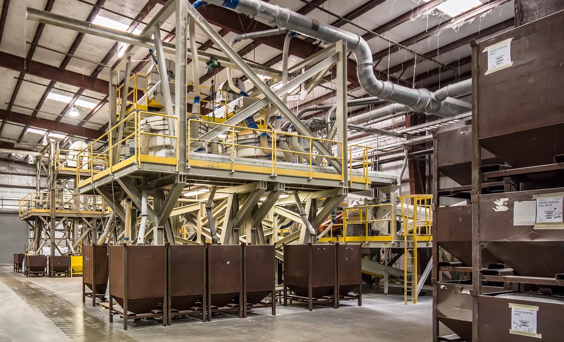 Sebring Plant 042 Agglomerate Processing Interior