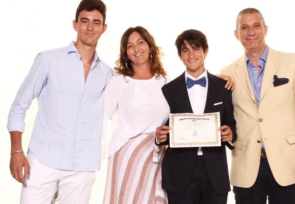 Andrea Di Giuseppe and Family