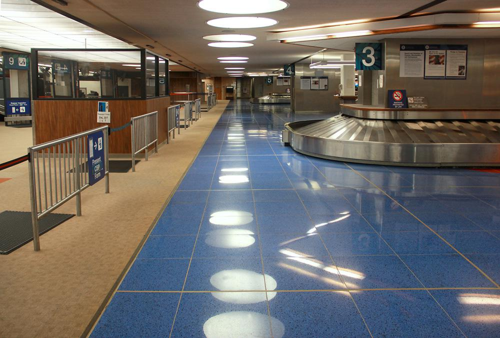 Trend Terrazzo Origina Flooring, Honolulu International Airport, International Arrivals, Honolulu, USA
