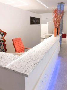 Trend Terrazzo Transcenda Counter Top, Miami USA